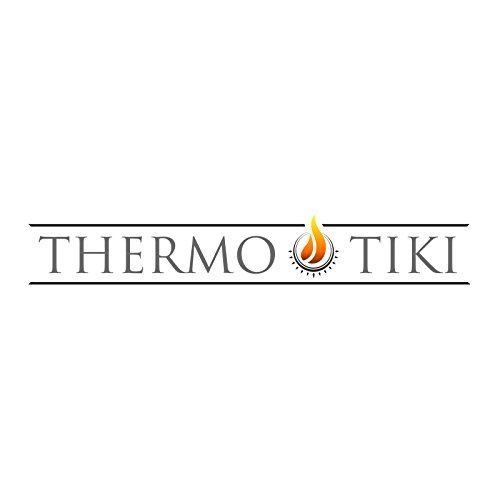 Thermo-Tiki-Premium-Tabletop-Propane-Outdoor-Patio-Heater-w-Cover-Multiple-Colors-Available