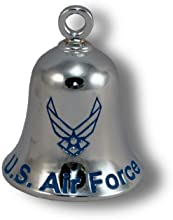 USAF Logo Chrome Plated Brass Ride Bell CB36