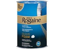 Rogaine Hair Regrowth For Men 5% Foam 4pk