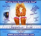 Benchwarmers 2008 Signature Edition Trading Card Box of 10 by Benchwarmers