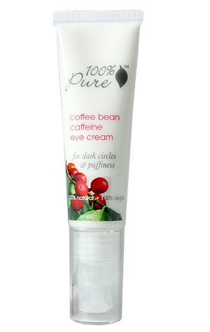 100% Pure Cosmetics - Organic Coffee Bean Eye Cream, 1 fl oz cream
