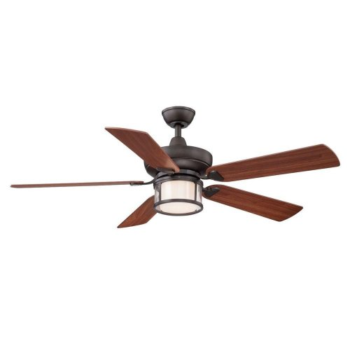 Hampton Bay Tipton Ii 52 In. Oil Rubbed Bronze Ceiling Fan - Ceiling ...