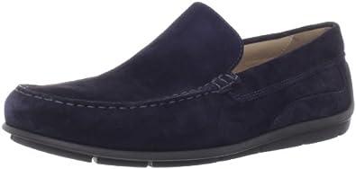 7bc72e6ec216 (新品)ECCO爱步男士经典莫克休闲鞋Men s Classic Loafer Marine