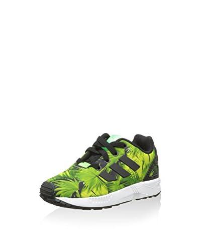 adidas Zapatillas ZX Flux EL Negro / Verde