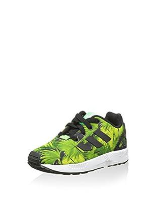 adidas Zapatillas ZX Flux EL (Negro / Verde)