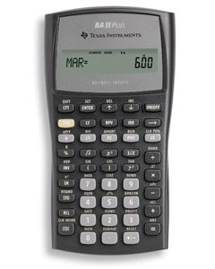 TEXAS INSTRUMENTS BA-2-PLUS Calculator, Financial, NFV,MIRR* Modified Duration,Payback,Discount PaybackModified Duration,Payback,Discount Payback