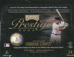 2004 Playoff Prestige Baseball Cards Hobby Box