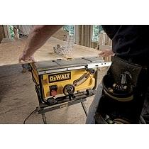 Dewalt dwe7480 10 compact job site table saw with site for 10 inch table saw comparison