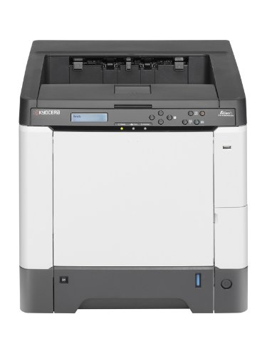 Kyocera FS-C5250DN - Printer - colour - duplex - laser - Legal, A4 - 9600 dpi x 600 dpi - up to 26 ppm (mono) / up to 26 ppm (colour) - capacity: 550 sheets - USB, 10/100Base-TX, direct print USB