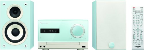 Pioneer-X-CM32BT-L-Micro-Hifi-System-2x-15-Watt-Bluetooth-Front-USB-CD-Streaming-App-blau