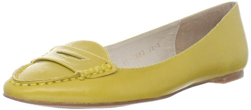 ALL BLACK Women's Little Loafer,Yellow,38.5 EU/8 M US