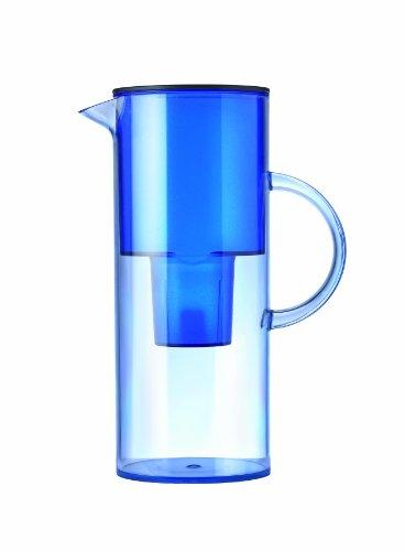 Stelton 1310-12 Wasserfilterkanne, 2 l, azur