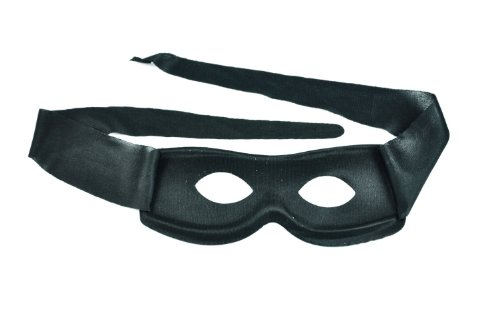 HOSdog Black Cotton Cloth Zorro Ninja Mask for Party Masquerade Halloween
