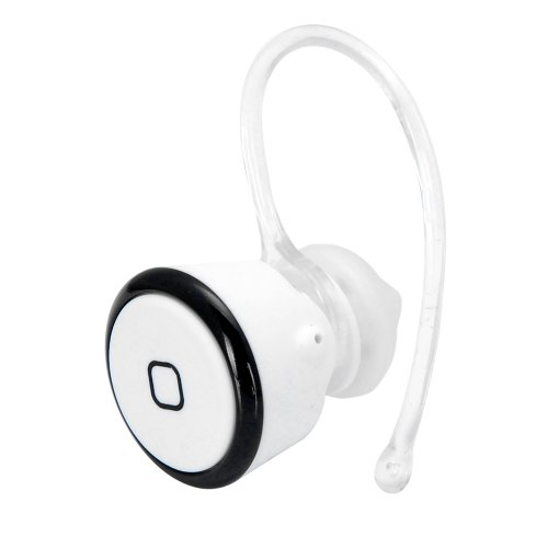 White Black Mini Smallest Hands Free Wireless Bluetooth Headset Headphone Earphone For Smartphone Mobile Cell Phone