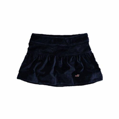 Hollister Womens Mini Skirt Soft Velvet Navy (3) Image