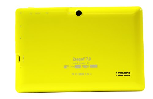 Zeepad Allwinnwer A13 Boxchip Cortex A8 Android (Zeepad7.0-YLO)