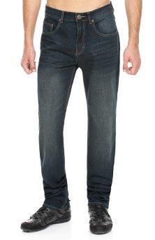 Paddock's Madison Jeans in Überlänge, blue black vintage used, W42-L40