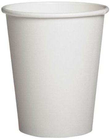 Dixie 2340W Paper Hot Cup, 10 Oz Capacity, White (20 Packs Of 50)