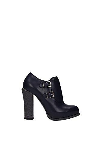 8T4582Q7NF0P4H-Fendi-Chaussure-mi-montantes-Femme-Cuir-Bleu