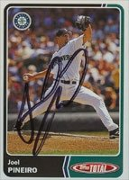 Joel Pineiro Seattle Mariners 2003 Topps Total Autographed Hand Signed Trading Card. by Hall+of+Fame+Memorabilia