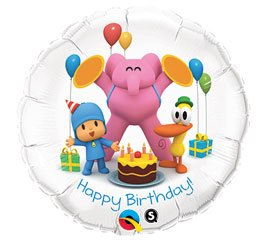 Pocoyo Happy Birthday Foil Balloon - 1