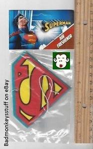 [DC Comics SUPERMAN, SUPERGIRL or SUPERBOY Car Locker Room AIR FRESHENER] (Superboy Costume Cosplay)