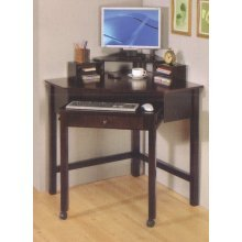 Buy Low Price Comfortable Cappuccino Wood Corner Computer Desk – coaster 800983 (B005LWPH3W)