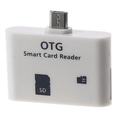 Zcl Otg Smart Card Reader Connection Kit (White)