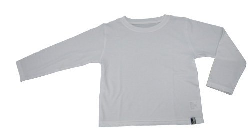 ナノミックス KC長袖Tシャツ 白 90