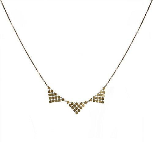 cecile-cohen-collier-lorelei-chaine-fine-bronze-et-triangles-en-cotte-de-maille-fluide-fermoir-magne