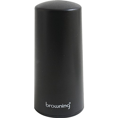 "BROWNING BR2445 450MHZ-465MHz Pretuned Low-Profile NMO Antenna, 3 1/4"" Tall"