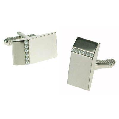 Mini Pearls Cufflinks