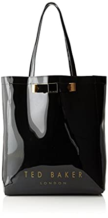 Ted Baker Plain Bow Icon Shoulder Bag,Black,One Size