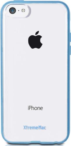 XtremeMac Microshield Accent Cover con bordo gommato per iPhone 5C blu