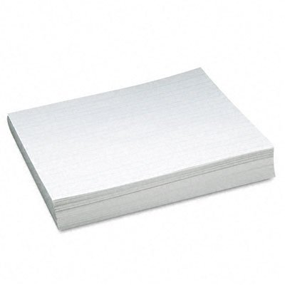 Pacon 2635 Ruled Newsprint Practice Paper with Skip Space 2nd Grade White 500 Sheets/Ream