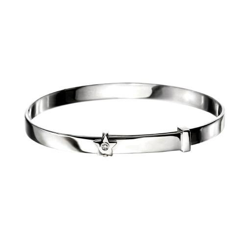 D For Diamond - DIAMOND Star baby BANGLE