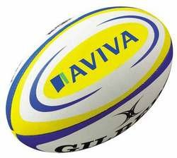 Gilbert Official Aviva Premiership Replica Rugby Ball - Size 5