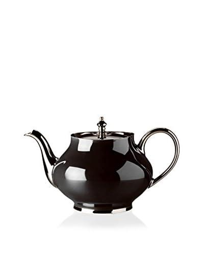 Haviland Laque de Chine Platinum 40.6-Oz. Teapot, Noir