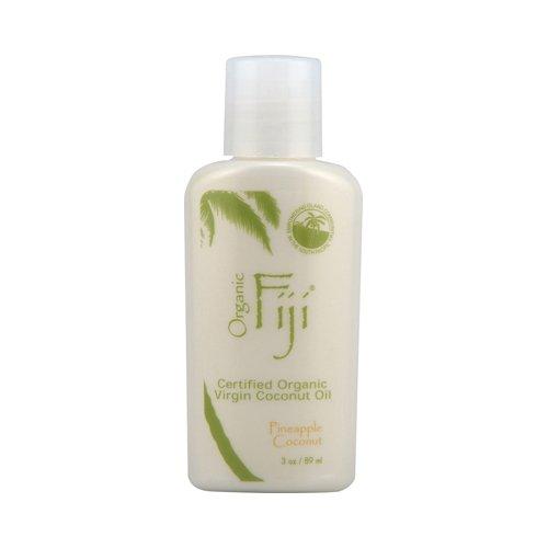 Organic Fiji Coconut Oil Pineapple Coconut 3 Oz
