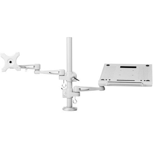 サンコー ノートパソコン&サブモニター用ダブルアーム MARMGUS3360S