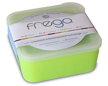 Frego FR-Green 2-Cup Kid proof Food Storage Container  2 Cup or 500ml