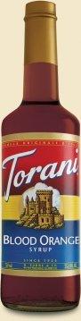 Torani® Blood Orange Syrup front-765742