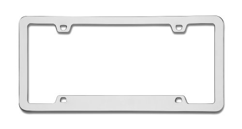 Cruiser Accessories 15130 Neo Sport Chrome License Frame