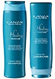 L'Anza Healing Moisture Tamanu CreamShampoo 300ml + Kukui Nut Conditioner 250ml