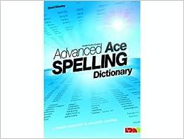 advanced ace spelling dictionary pocket edt david moseley 9781855034815 books. Black Bedroom Furniture Sets. Home Design Ideas