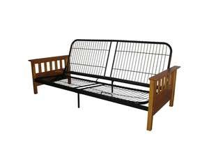 Provo Full-Size Mission-Style Futon Frame front-952018