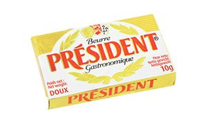 president-unsalted-butter-portions-10gr-100-pieces