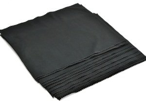 """Cosmos ® 15 Pcs (7""""X 8"""") Black Super-Soft Microfiber Lens/Cleaning Cloth For Tv/Lcd Screen/Camera/Lenses And Eye Glasses +Cosmos Lcd Cloth"""