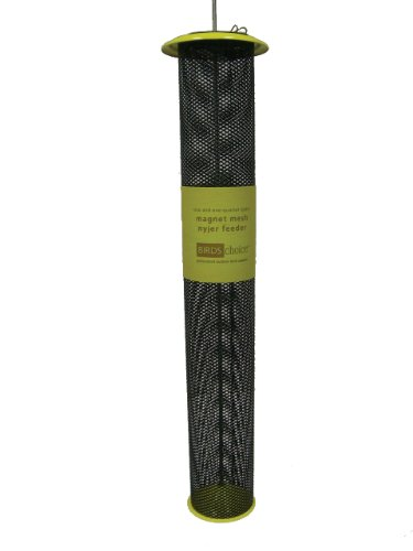 Birds Choice 2-1/4QT. Magnet Mesh Tube Finch Feeder