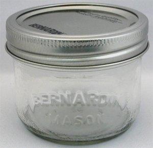 Bernardin Mason Jars - 250 mL - Wide